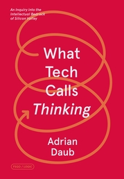 What Tech Calls Thinking Book Cover - Click to open New Releases panel