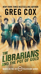 The Librarians and the Pot of Gold Book Cover - Click to open Coming Soon panel