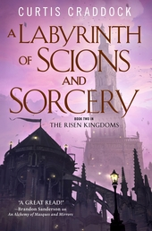 A Labyrinth of Scions and Sorcery Book Cover - Click to open New Releases panel