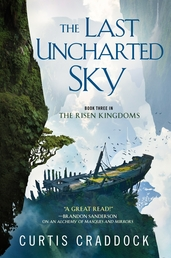 The Last Uncharted Sky Book Cover - Click to open New Releases panel