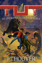 Tut: My Epic Battle to Save the World Book Cover - Click to open Coming Soon panel
