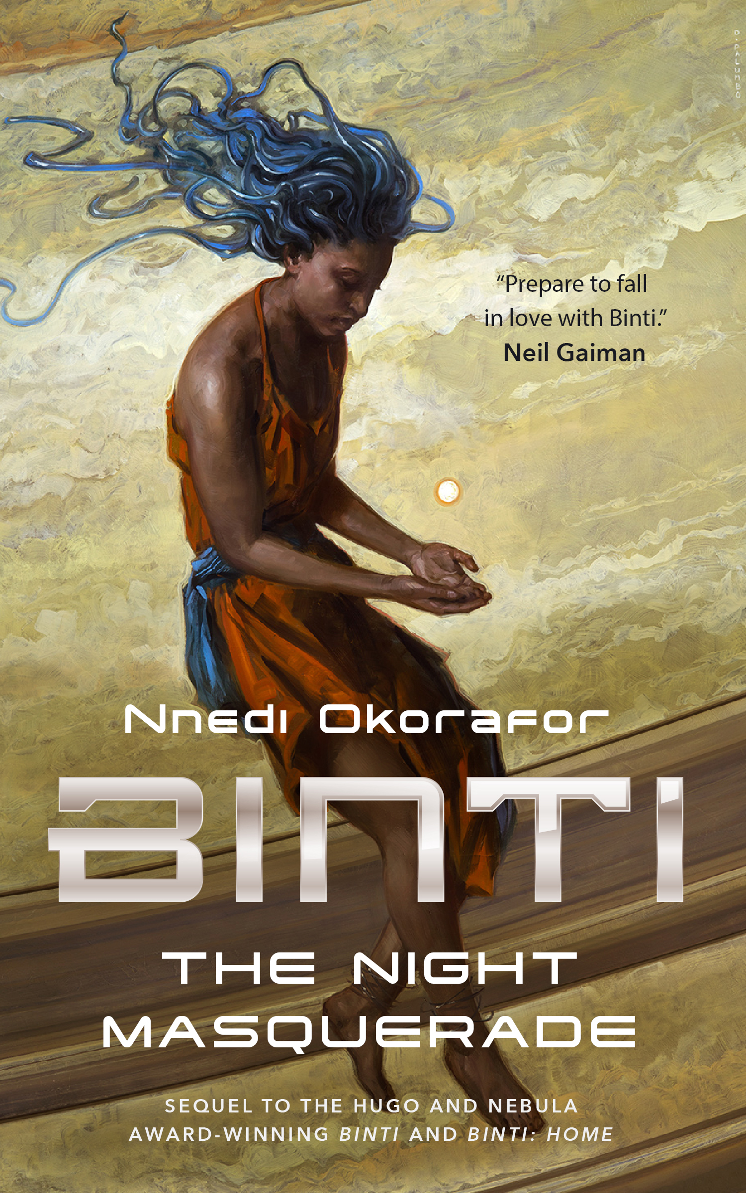 Binti: The Night Masquerade Book Cover - Click to open Top Sellers panel