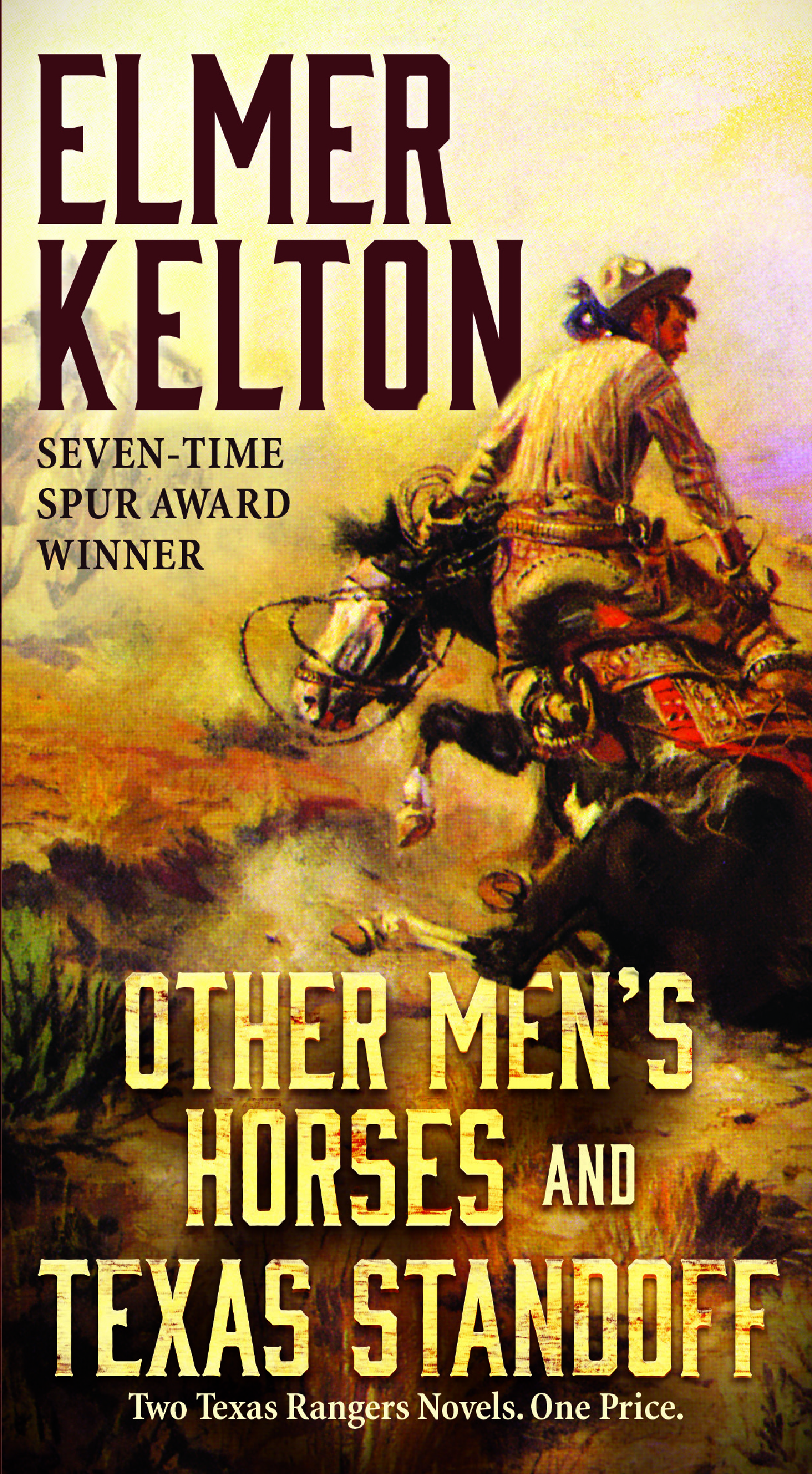 Other Men's Horses and Texas Standoff Book Cover - Click to open Top Sellers panel