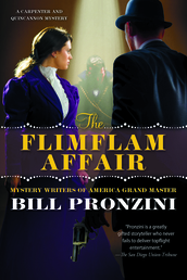 The Flimflam Affair Book Cover - Click to open New Releases panel