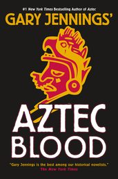 Aztec Blood Book Cover - Click to open New Releases panel