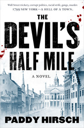 The Devil's Half Mile Book Cover - Click to open Coming Soon panel