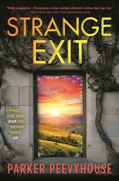 Strange Exit Book Cover - Click to open New Releases panel