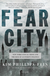 Fear City Book Cover - Click to see book details