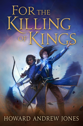 For the Killing of Kings Book Cover - Click to open Coming Soon panel