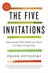 The Five Invitations Book Cover - Click to open New Releases panel