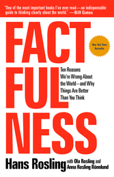 Factfulness Book Cover - Click to open Top Sellers panel