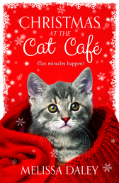 Christmas at the Cat Café Book Cover - Click to open Coming Soon panel