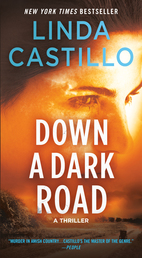 Down a Dark Road Book Cover - Click to open Coming Soon panel
