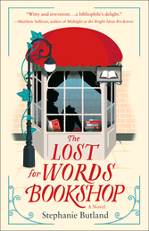 The Lost for Words Bookshop Book Cover - Click to open Coming Soon panel