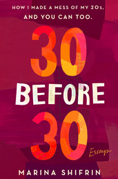 30 Before 30 Book Cover - Click to open Coming Soon panel