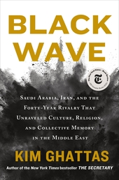 Black Wave Book Cover - Click to open Henry Holt panel