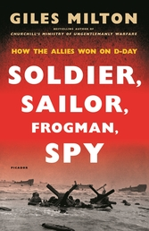 Soldier, Sailor, Frogman, Spy, Airman, Gangster, Kill or Die Book Cover - Click to open Henry Holt panel