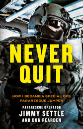 Never Quit Book Cover - Click to open Top Sellers panel