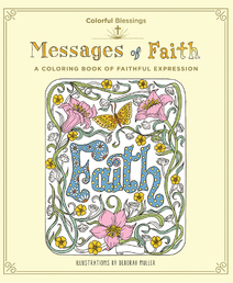 Colorful Blessings: Messages of Faith