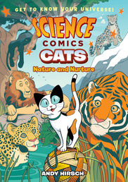 Science Comics: Cats Book Cover - Click to open Macmillan Kids panel
