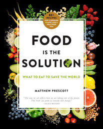 Food Is the Solution Book Cover - Click to open New Releases panel