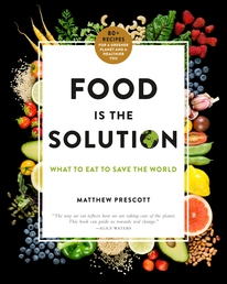 Food Is the Solution Book Cover - Click to open Coming Soon panel