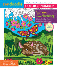 Zendoodle Color-by-Number: Spring Awakening Book Cover - Click to open New Releases panel