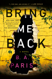 Bring Me Back Book Cover - Click to open Top Sellers panel
