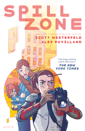 Spill Zone Book Cover - Click to open :01 Collection panel