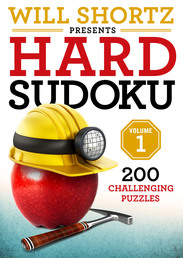 Will Shortz Presents Hard Sudoku Volume 1 Book Cover - Click to open New Releases panel