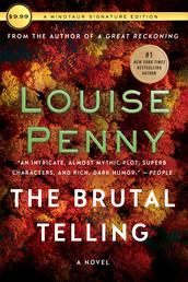 The Brutal Telling Book Cover - Click to see book details