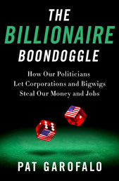The Billionaire Boondoggle Book Cover - Click to open Coming Soon panel