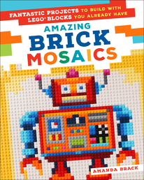 Amazing Brick Mosaics Book Cover - Click to open Coming Soon panel