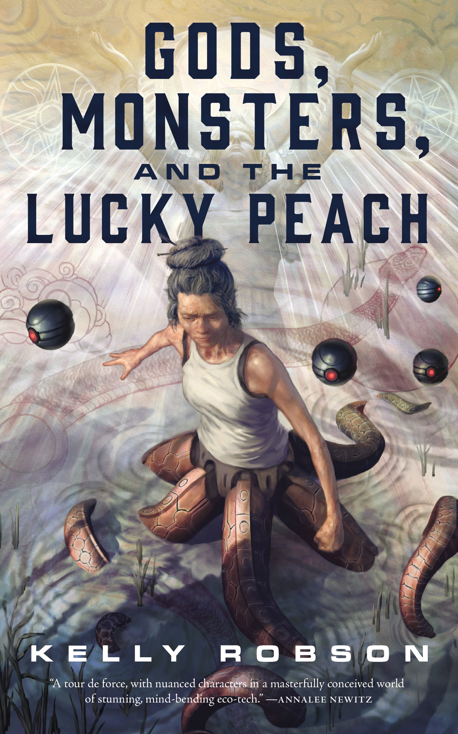 Gods, Monsters, and the Lucky Peach Book Cover - Click to open New Releases panel