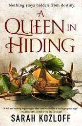 A Queen in Hiding Book Cover - Click to open New Releases panel