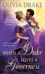 When a Duke Loves a Governess Book Cover - Click to open Coming Soon panel