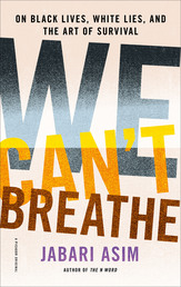 We Can't Breathe Book Cover - Click to open New Releases panel