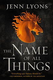 The Name of All Things Book Cover - Click to open Coming Soon panel
