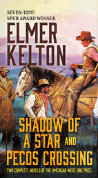 Shadow of a Star and Pecos Crossing Book Cover - Click to open Coming Soon panel