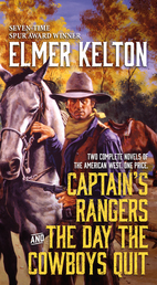 Captain's Rangers and The Day the Cowboys Quit Book Cover - Click to open Top Sellers panel