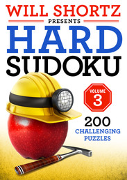 Will Shortz Presents Hard Sudoku Volume 3 Book Cover - Click to open New Releases panel