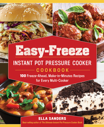 Easy-Freeze Instant Pot Pressure Cooker Cookbook Book Cover - Click to open Coming Soon panel