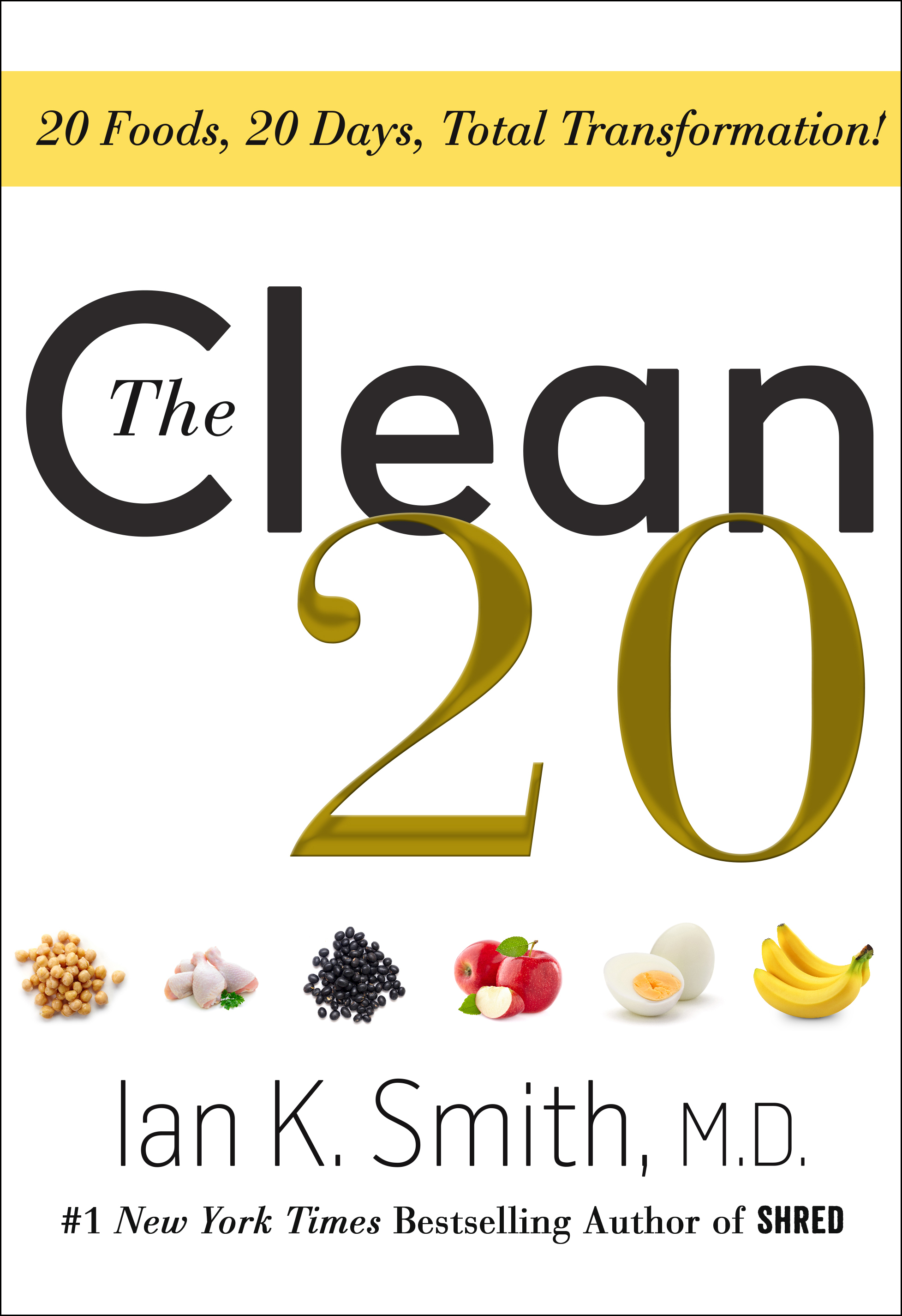 The Clean 20 Book Cover - Click to open Top Sellers panel