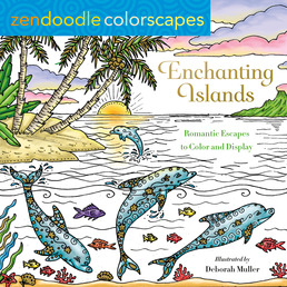 Zendoodle Colorscapes: Enchanting Islands Book Cover - Click to open New Releases panel