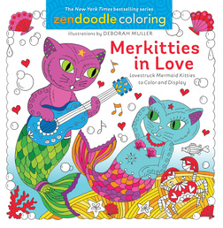 Zendoodle Coloring: Merkitties in Love Book Cover - Click to open Top Sellers panel