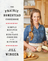 The Prairie Homestead Cookbook Book Cover - Click to open Coming Soon panel