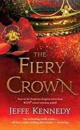 The Fiery Crown Book Cover - Click to open Coming Soon panel