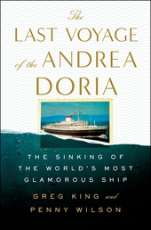 The Last Voyage of the Andrea Doria Book Cover - Click to open Coming Soon panel