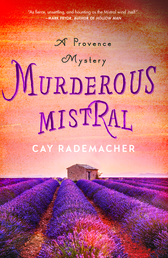Murderous Mistral Book Cover - Click to open Coming Soon panel