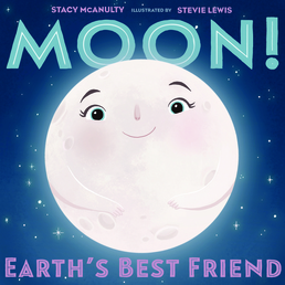 Moon! Earth's Best Friend Book Cover - Click to open Macmillan Kids panel